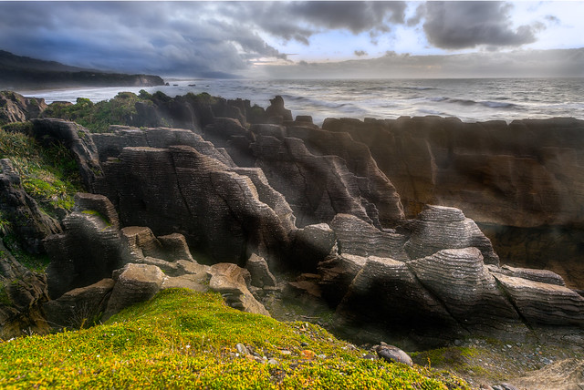 Punakaiki New Zealand  city pictures gallery : Pancake rocks, Punakaiki, New Zealand | Flickr Photo Sharing!