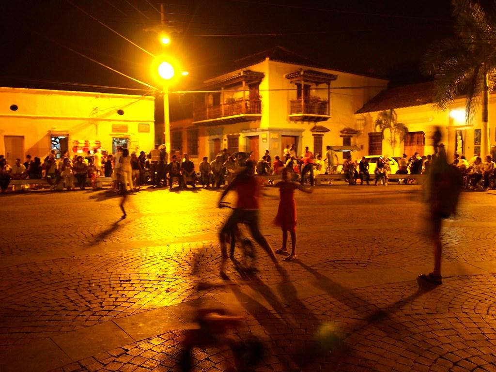 Plaza Trinidad - Cartagena, Colombia