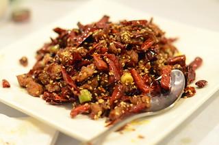 Chicken in Sichuan Style, Little Pepper, College Point, Queens, New York City