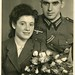 RPPC Portrait of a solider with bride - Germany - 1943 by Patrick Bradley 70