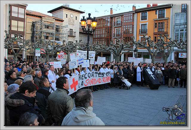 4 Manifestación contra recortes Sanidad Rural