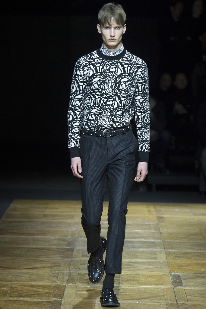 FW14 Paris Dior Homme040_Frederik Ruegger(VOGUE)