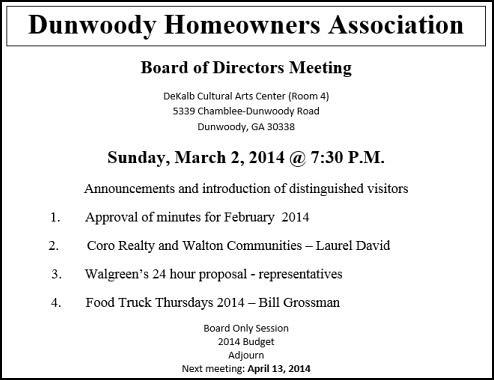 heneghan s dunwoody blog dunwoody homeowners association meeting agenda for this sunday. Black Bedroom Furniture Sets. Home Design Ideas