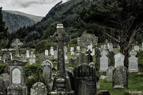 Celtic cemetery ... by lujaban