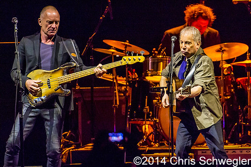 Paul Simon & Sting – 02-26-14 – On Stage Together Tour, The Palace Of Auburn Hills, Auburn Hills, MI