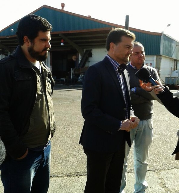 Antonio Maíllo visita CANLA