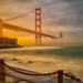 Golden Gate Bridge - Sunset  - San Francisco by Matt Pasant