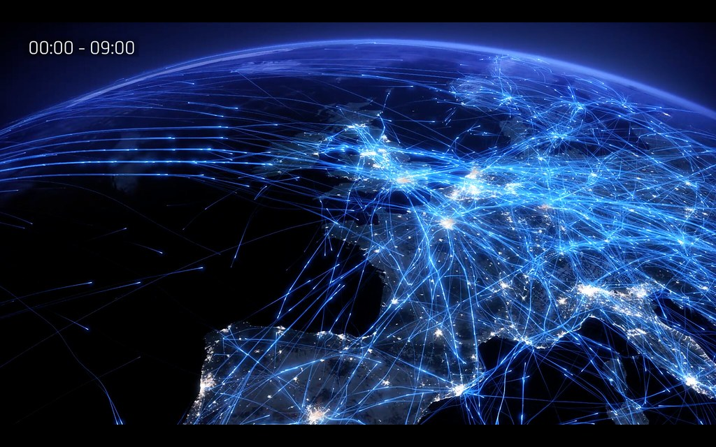 Europe's air traffic network