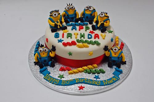 Multi Minion Cake – Beautiful Birthday Cakes
