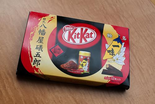 Kit Kat de Pimientos Ichimi