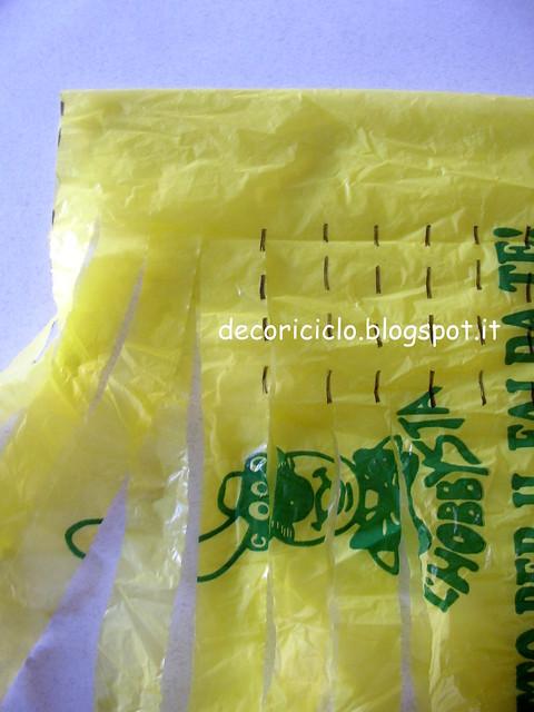 tutorial fettuccia da sacchetti di plastica 6
