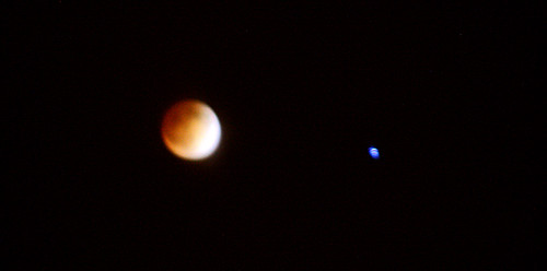 Blood moon + eclipse