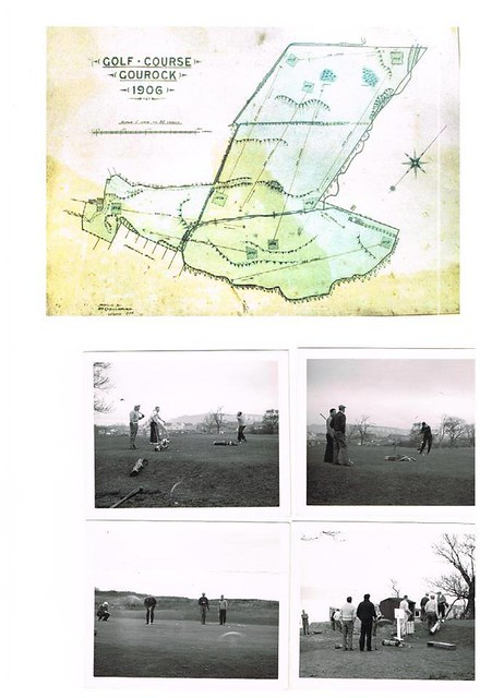 Golf course map and pics 1906