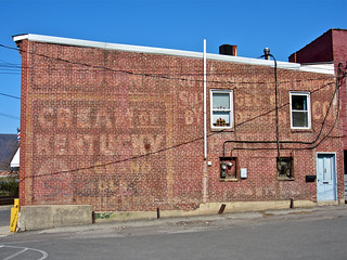 Cream of Kentucky Ghost Sign, Cumberland, MD
