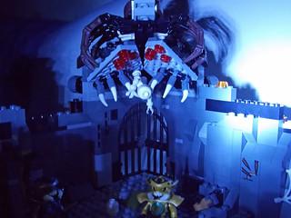 LEGO Chima MOC - Scorpion Palace Ruins 3
