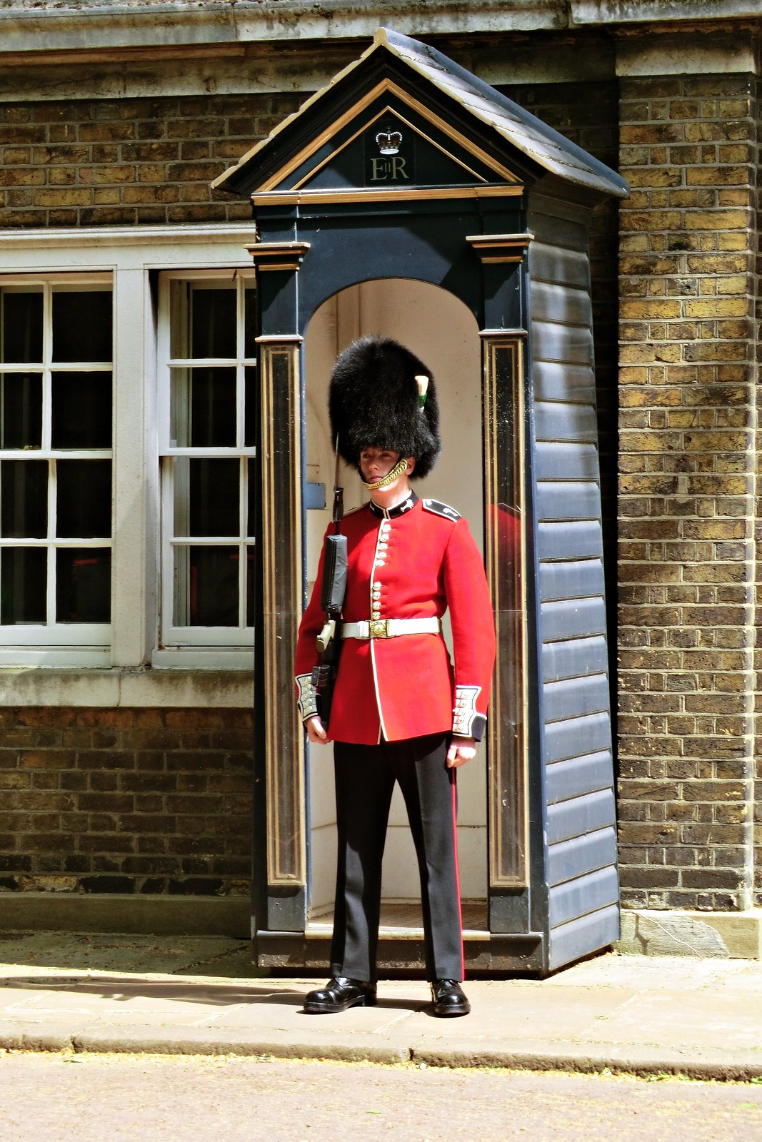 Guard outside Clarence House