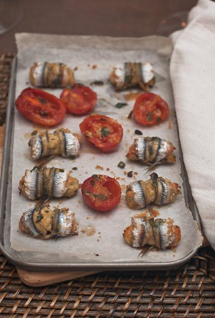 La cucina mediterranea nel piatto involtini di alici for Sinonimo sfruttare