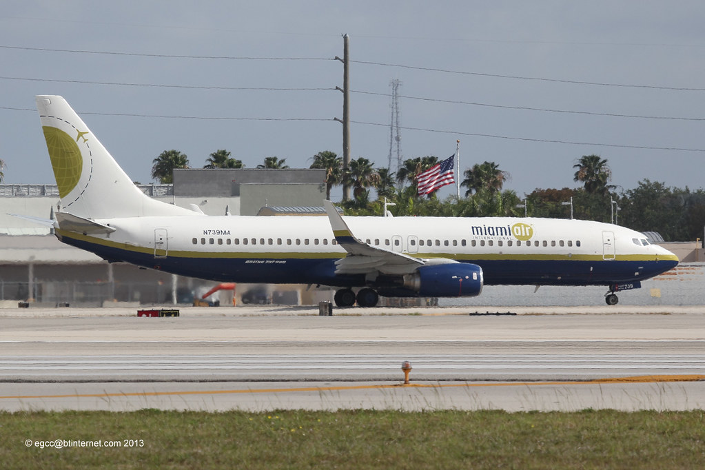 N739MA - B738 - Miami Air International