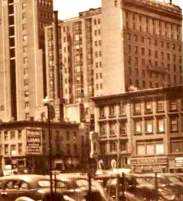 (1940's?) Hotel Diplomat, 110 West 43rd Street, NYC, NY (Upper Right Corner of Photo)
