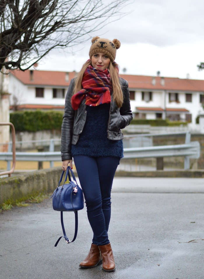 beanie orsacchiotto, Benetton, Tally Weijl, Conbipel, Zara, wildflower girl, fashion blog (3)