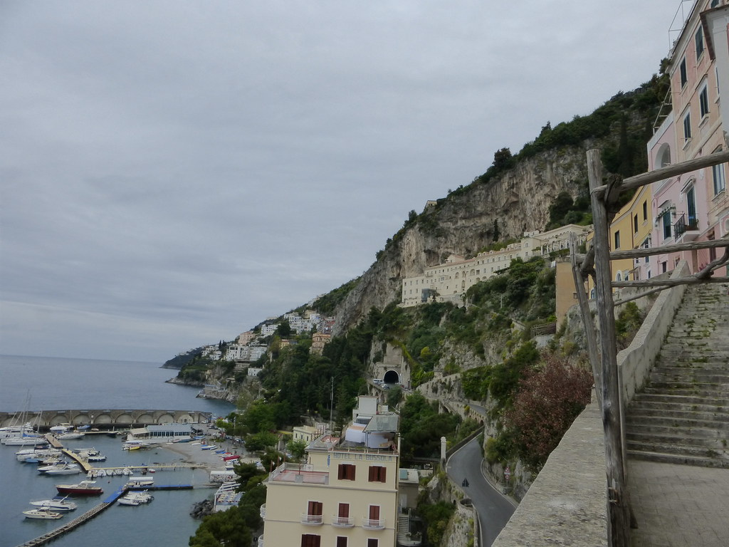 North side of Amalfi