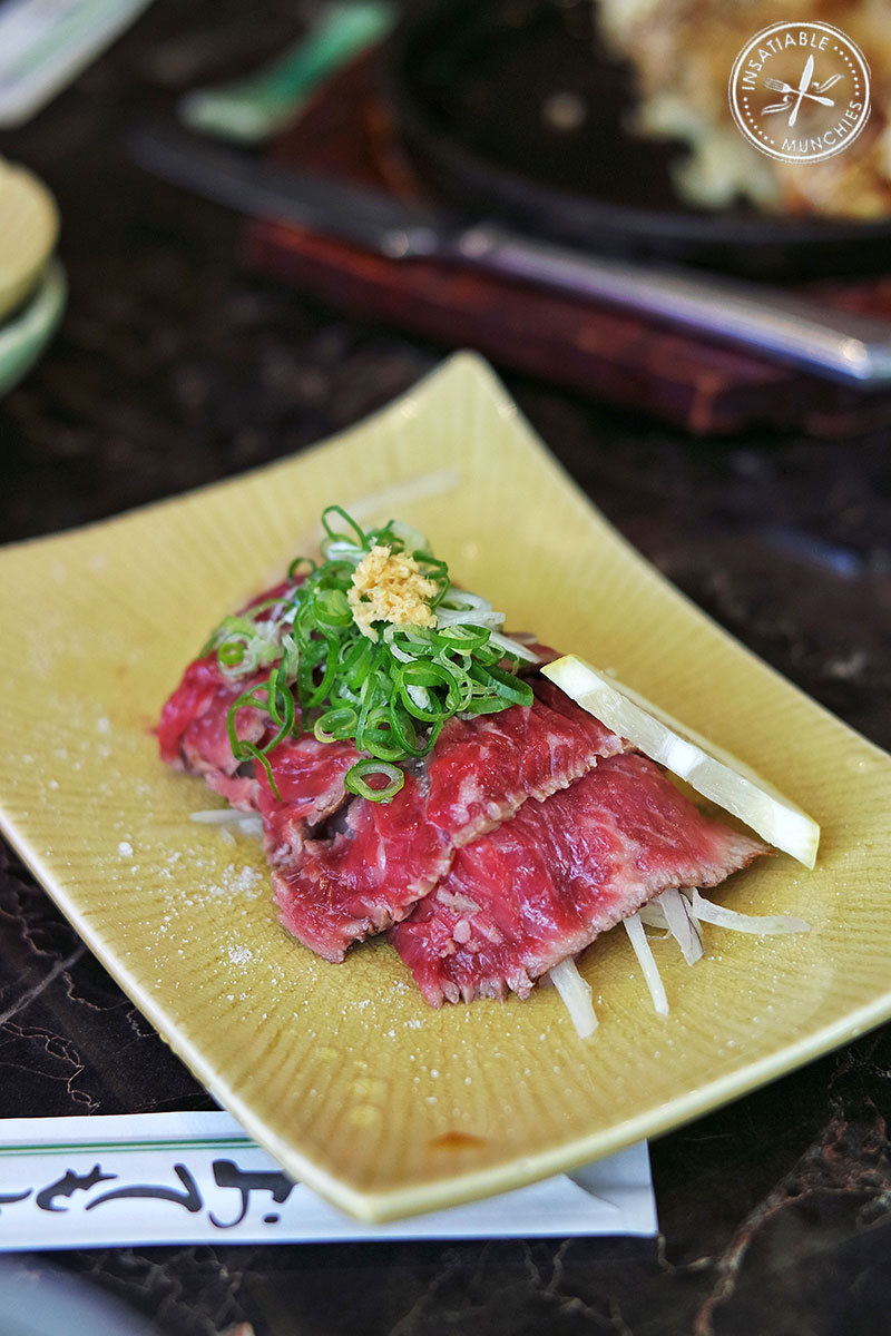Wagyu Tataki, $8.90