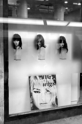 Wigs, wigs, wigs bw