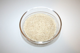 09 - Zutat Basmatireis / Ingredient basmati rice