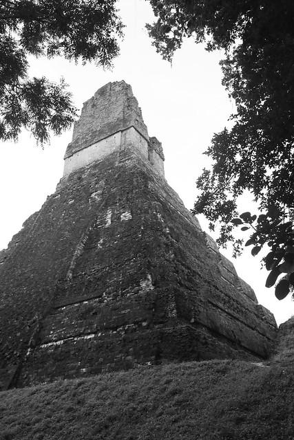 Jaguar Temple.  Tikal, Guatemala.