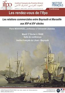 Les relations commerciales entre Beyrouth et Marseille aux XIVe et XVe siècles