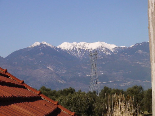 winter sky mountain snow nature greece αιτωλοακαρνανία παναιτωλικό