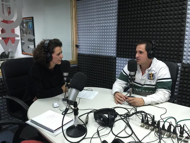 Sele en La Maleta Azul de Radio 3W hablando de Vietnam