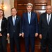 Secretary Kerry Poses for a Photo With UN Secretary General Ban Ki-moon, Egyptian Foreign Minister Shoukry, and EU High Representative Mogherini by U.S. Department of State