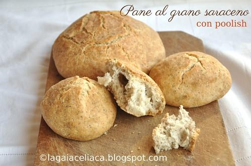 Buckwheat gluten free bread / Pane saraceno con metodo Poolish