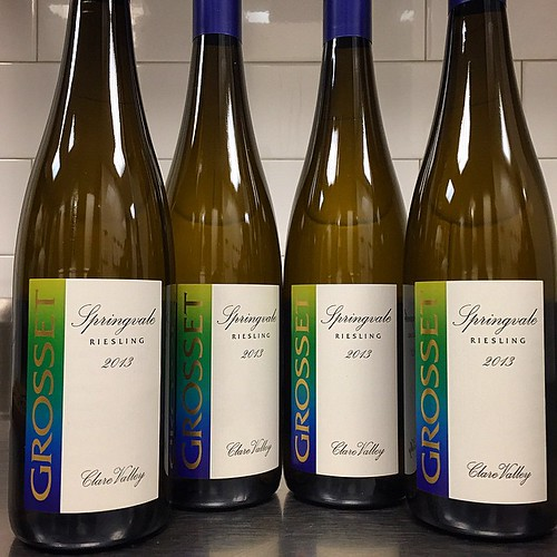 #spring may not be here yet, but it has arrived #bytheglass @thelambsclub !  We are now serving @Grosset #Springvale #Riesling 2013 #ClareValley #Australia