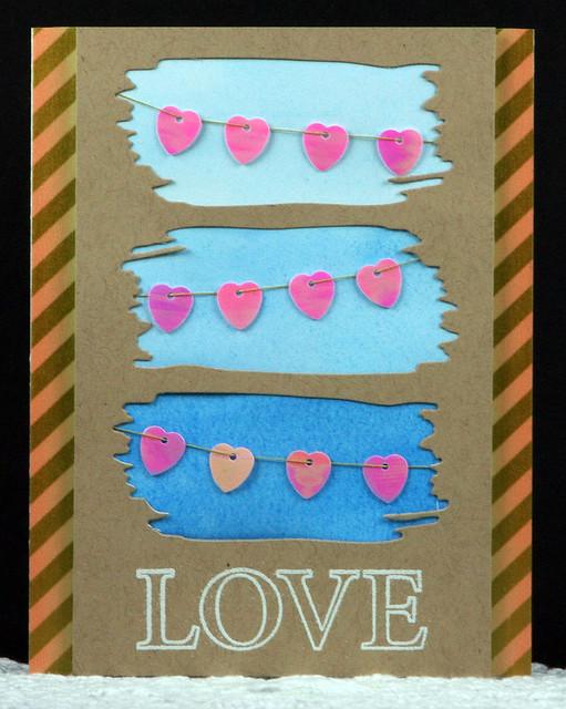 Heart Sequin Love Card | shirley shirley bo birley Blog