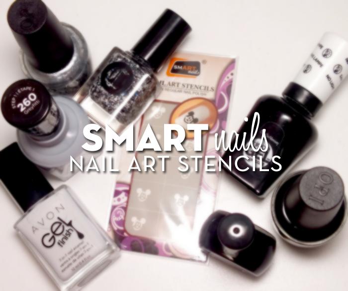 smART nails stencils- P033 Mouse (5)