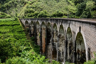 Sri Lanka. Ella. Nine Arch Bridge.