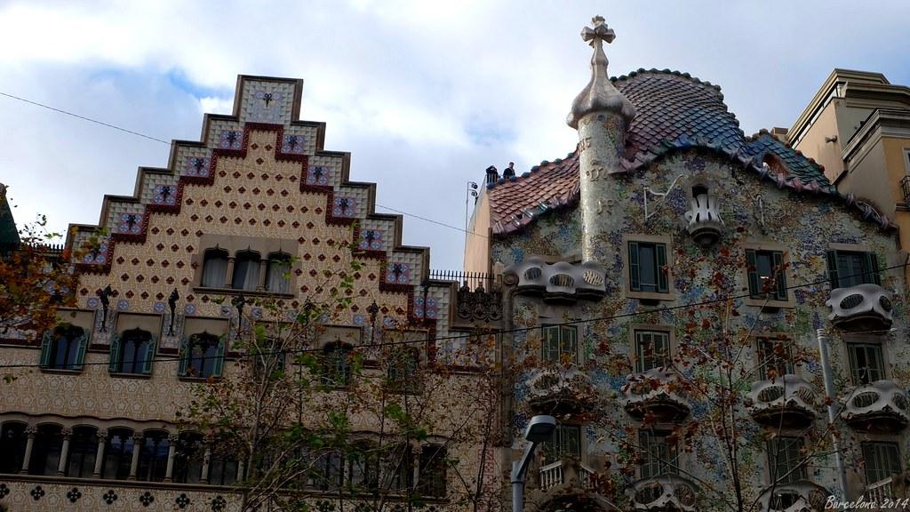 Barcelona day_4, Passeig de Gràcia, Casa Batllo