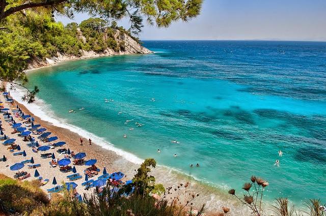 Beaches on Samos Island