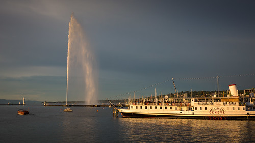 landscape switzerland evening landscapes geneva geneve lakegeneva