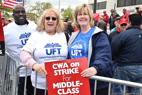 CWA on Strike (10) - UFT Members