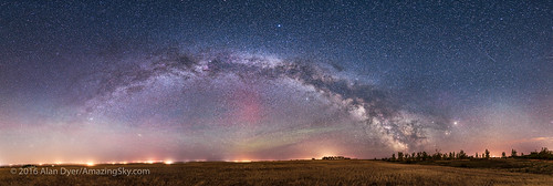 Panorama of the May Milky Way