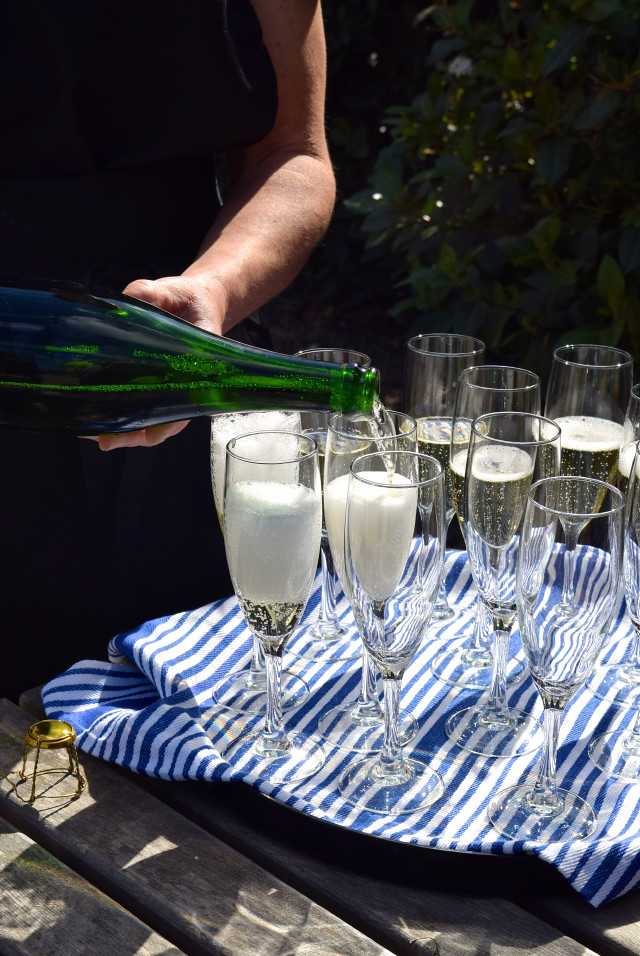 English Sparkling Wine at Barnsole Vineyard, Staple | www.rachelphipps.com @rachelphipps