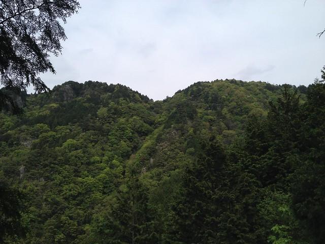 相戸岳 西ルートから山頂
