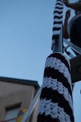 Yarn bombing Besançon 09