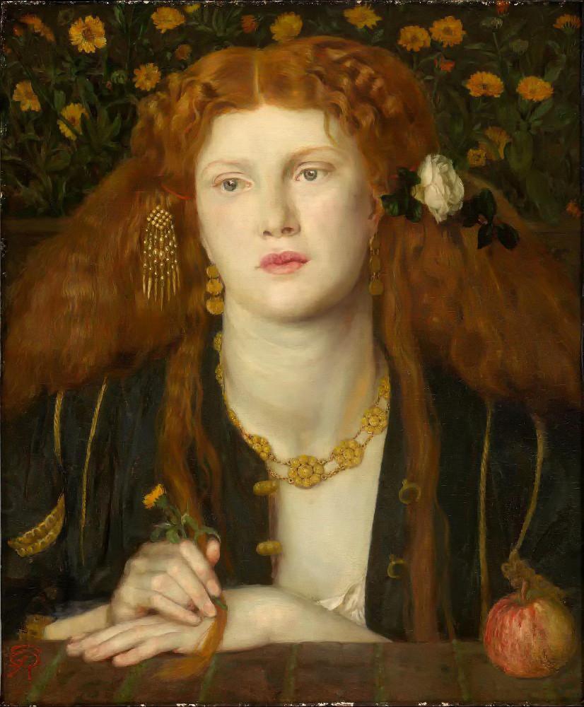 Bocca Baciata by Dante Gabriel Rossetti - 1859
