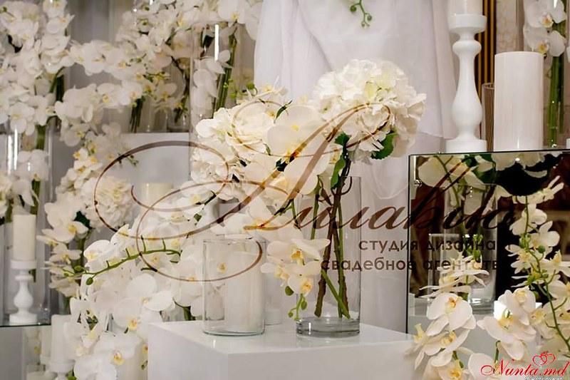 """Decor pentru nuntă şi floristică de la Agentia  """"Айлавью""""  > We love orchid weddings"""