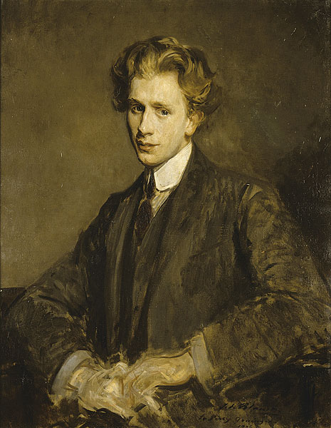 Percy Grainger by Jacques-Émile Blanche, 1906
