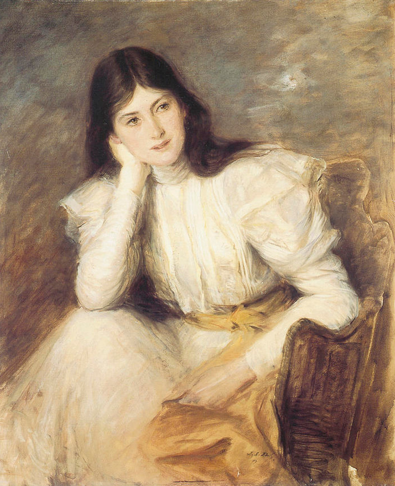 Portrait of Berthe Capel, wife of Lord Michelham by Jacques-Émile Blanche, 1897
